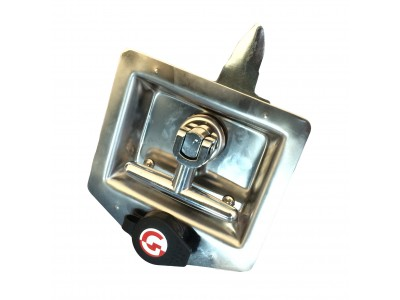 T-slot RVS, T-drop sluiting